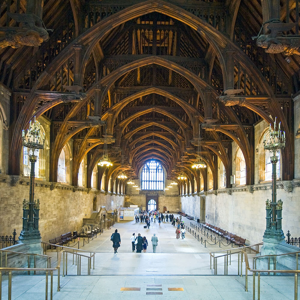 The-medieval-Westminster-Hall-restoration-William-Barsley